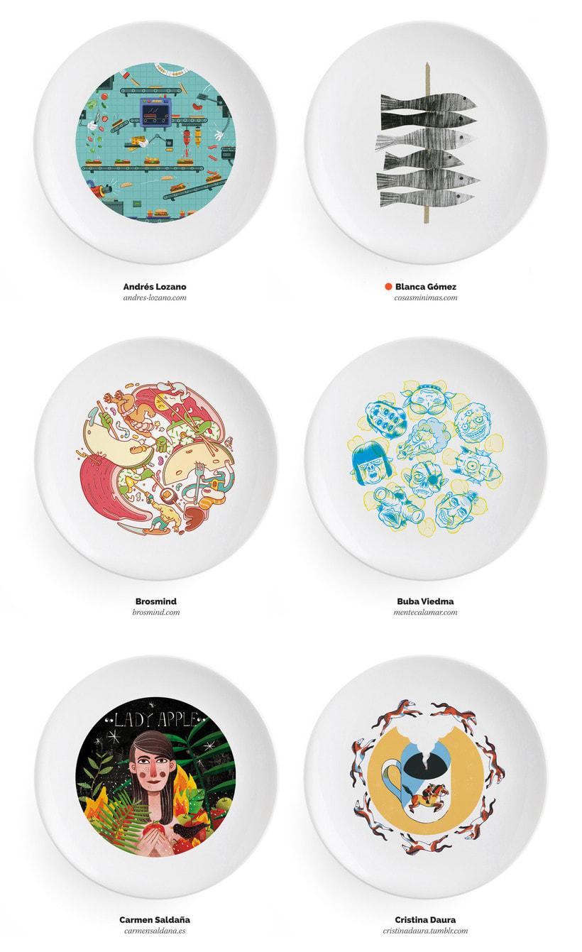 Ilustradores, ¡a la mesa! 5