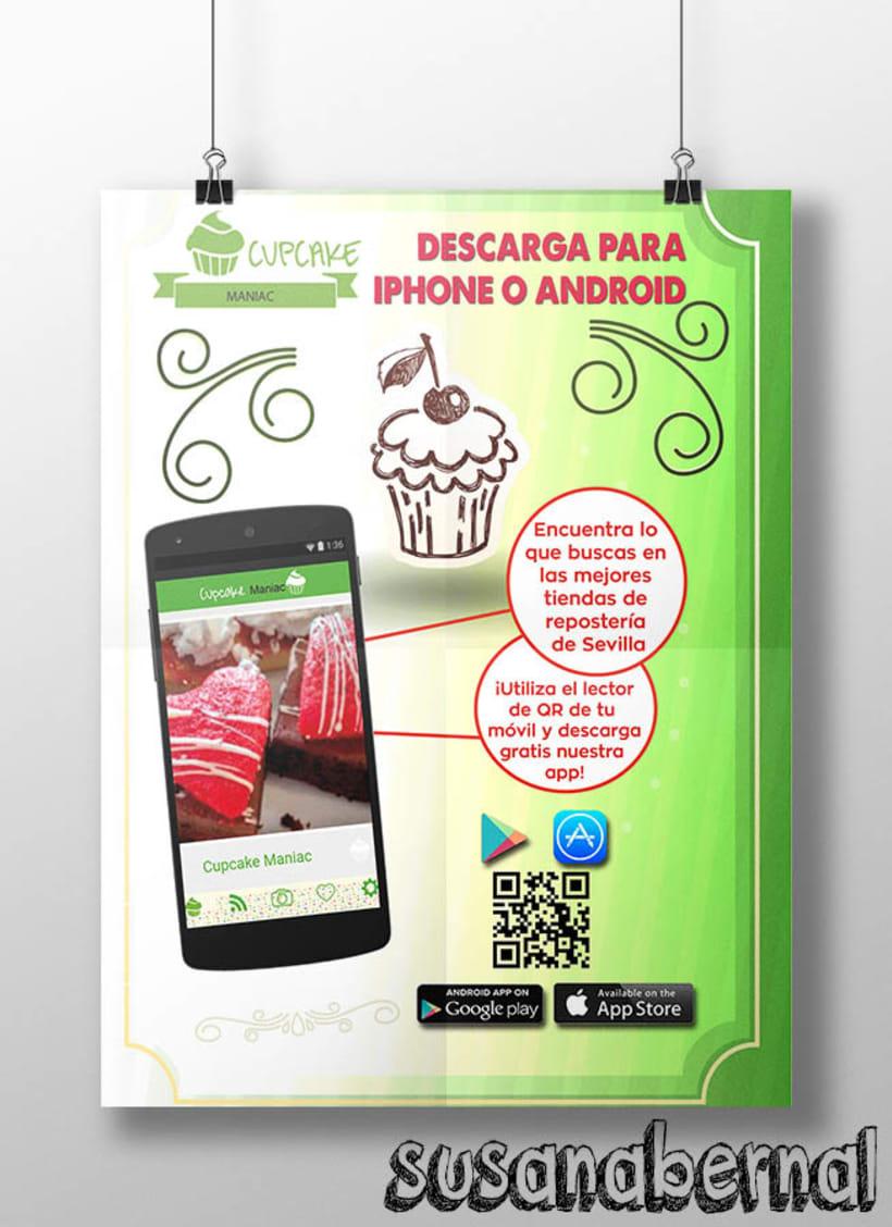 Diseño de folletos para descarga de Apps  3