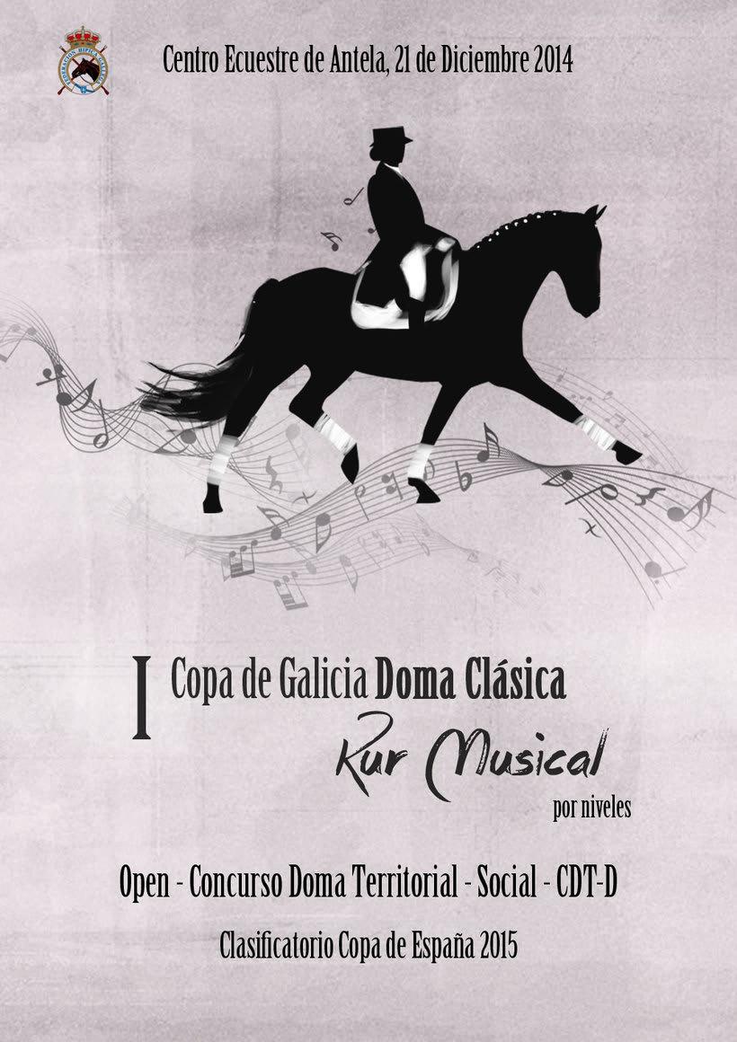 Carteles.Posters.Dressage.Doma Clásica. 0
