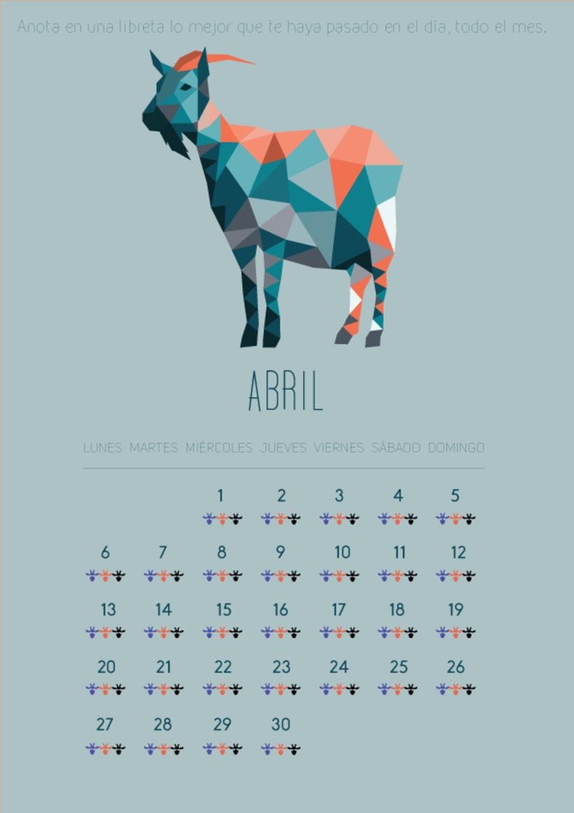Diseño gráfico.Calendario2015 0
