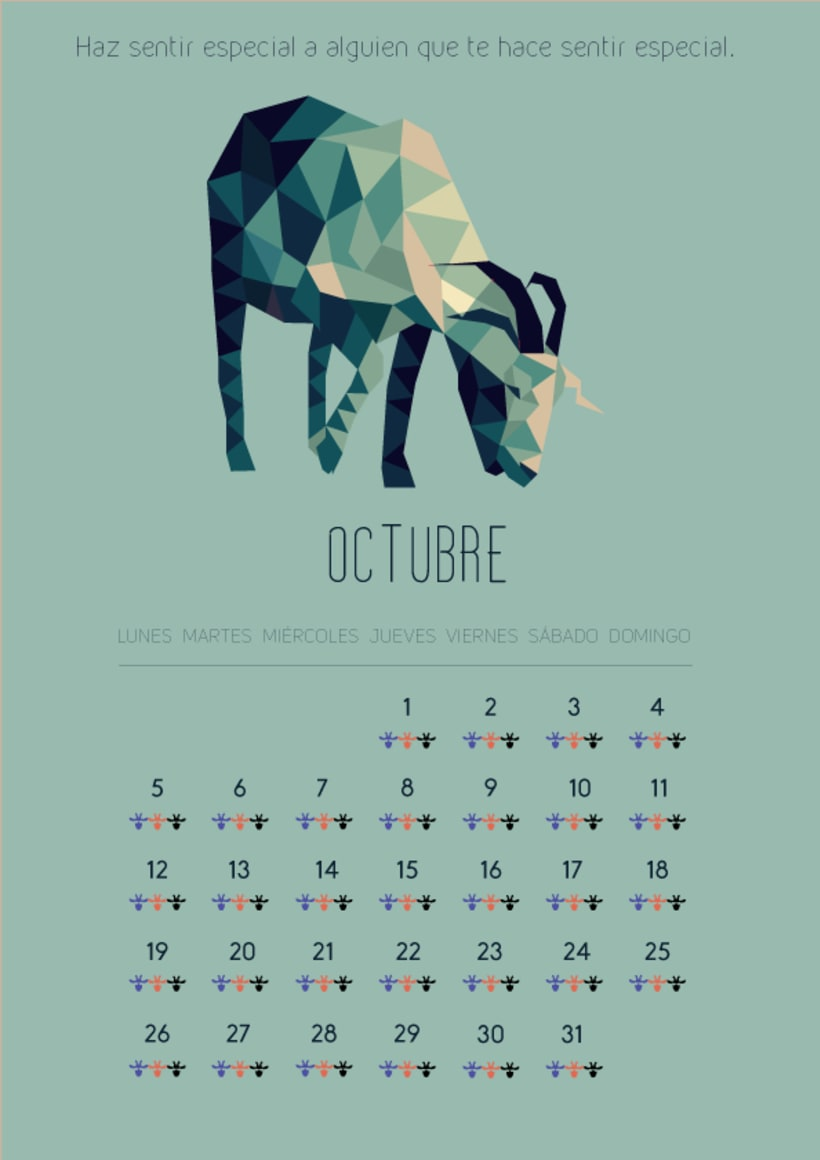 Diseño gráfico.Calendario2015 10