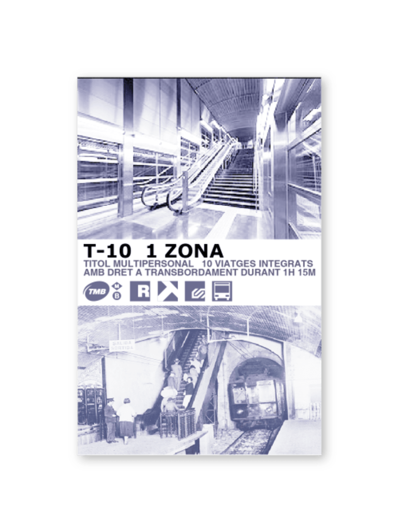 Tarjeta metro 1