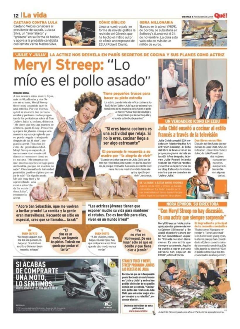 Maquetadora en diario Qué! en diferentes secciones 13