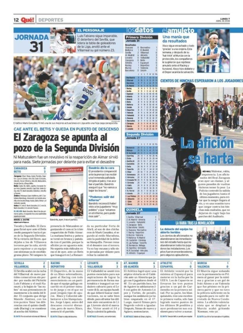 Maquetadora en diario Qué! en diferentes secciones 14