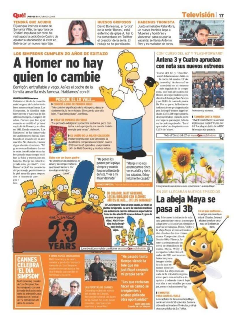 Maquetadora en diario Qué! en diferentes secciones 17