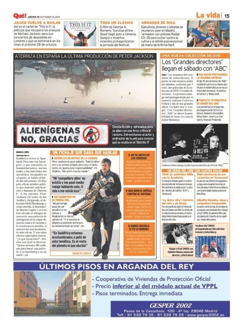 Maquetadora en diario Qué! en diferentes secciones 22