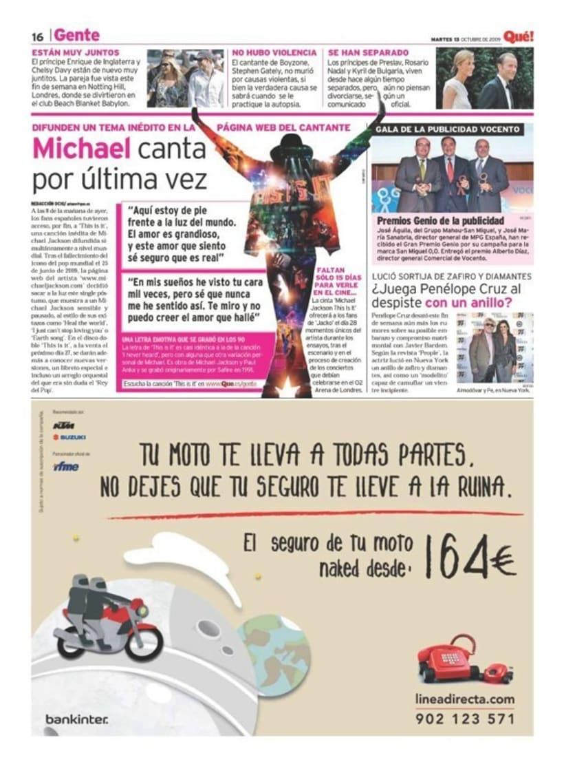 Maquetadora en diario Qué! en diferentes secciones 24