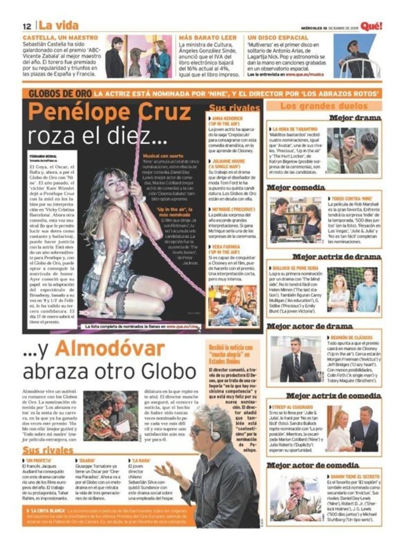 Maquetadora en diario Qué! en diferentes secciones 29