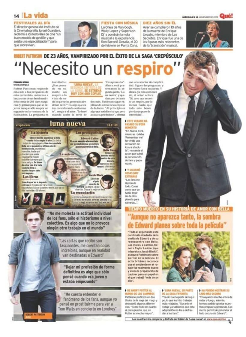 Maquetadora en diario Qué! en diferentes secciones 34