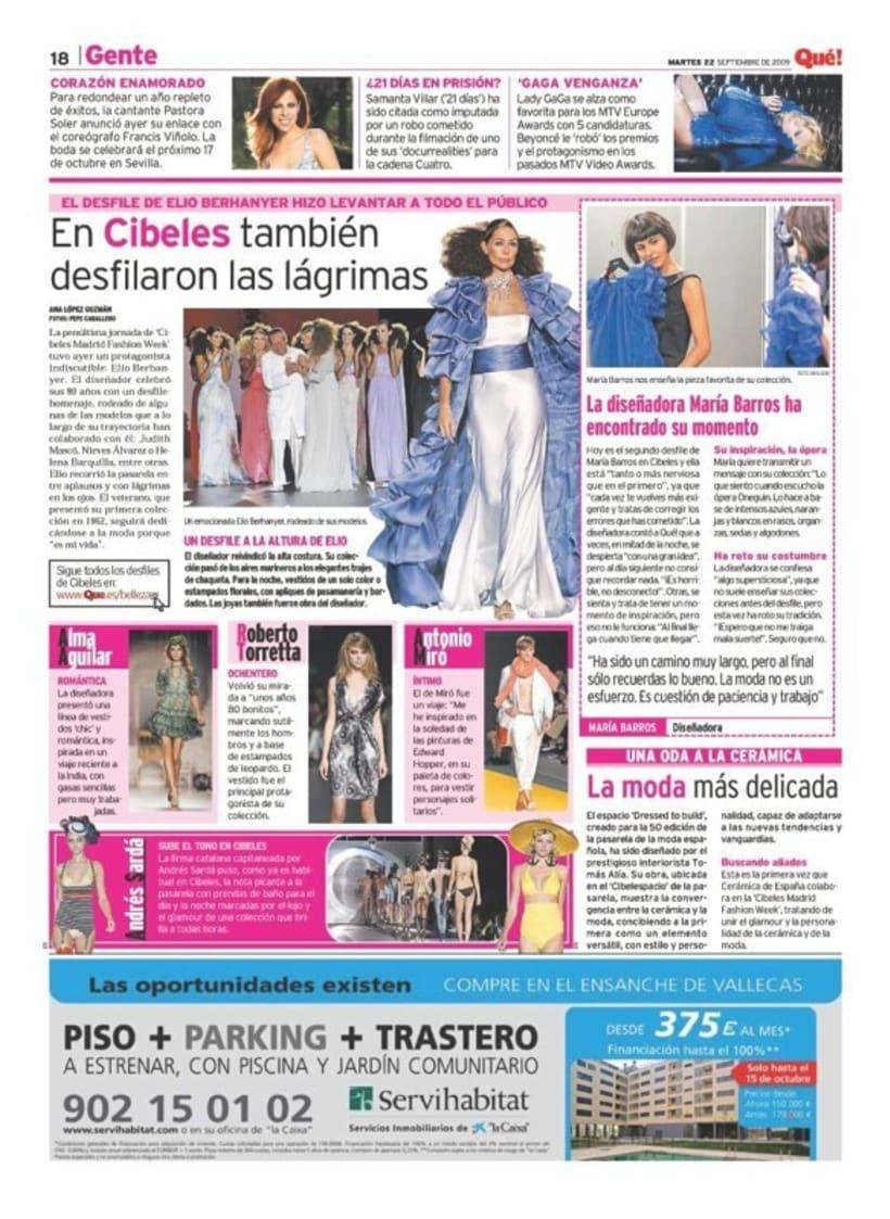 Maquetadora en diario Qué! en diferentes secciones 43