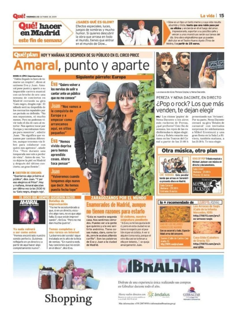 Maquetadora en diario Qué! en diferentes secciones 46