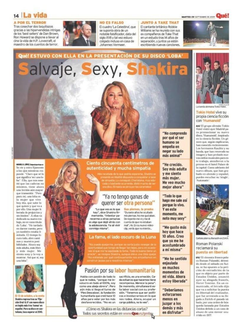 Maquetadora en diario Qué! en diferentes secciones 52