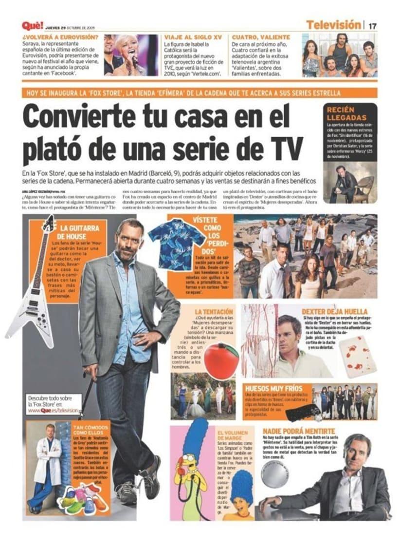 Maquetadora en diario Qué! en diferentes secciones 54