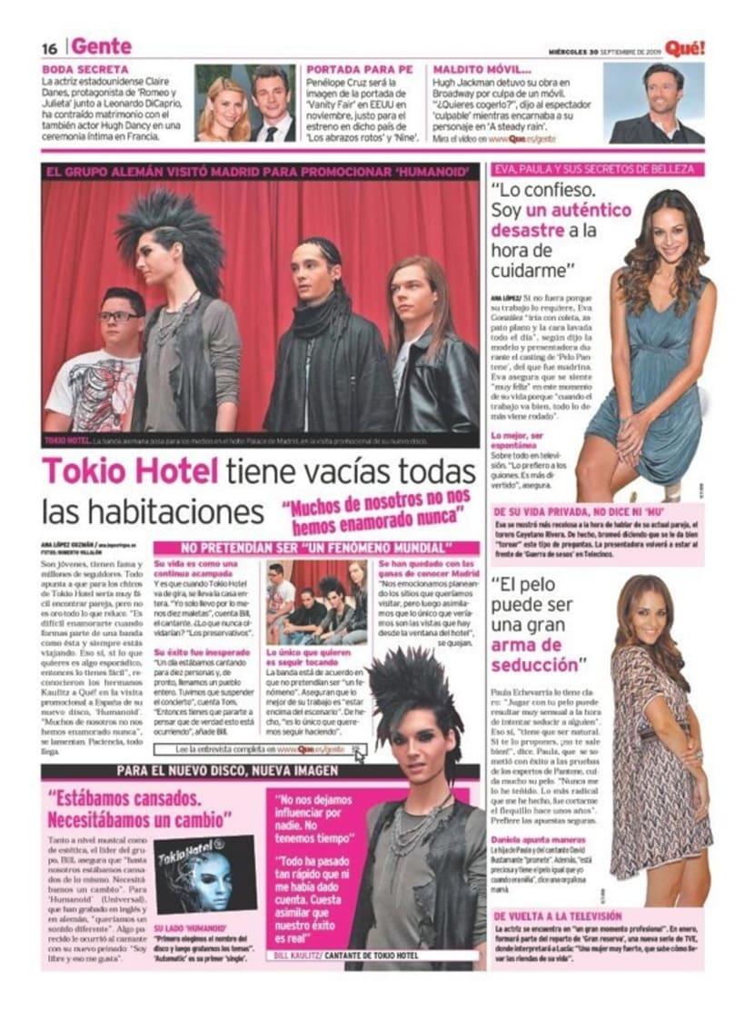 Maquetadora en diario Qué! en diferentes secciones 55