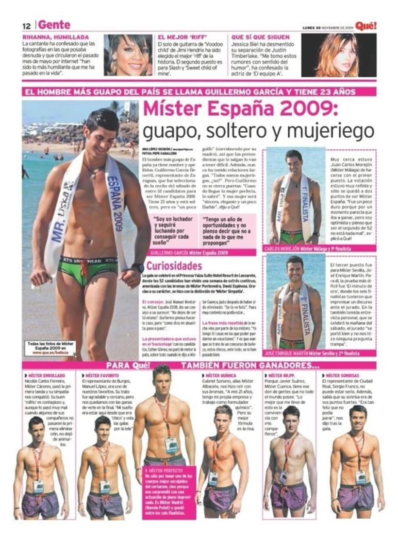 Maquetadora en diario Qué! en diferentes secciones 58