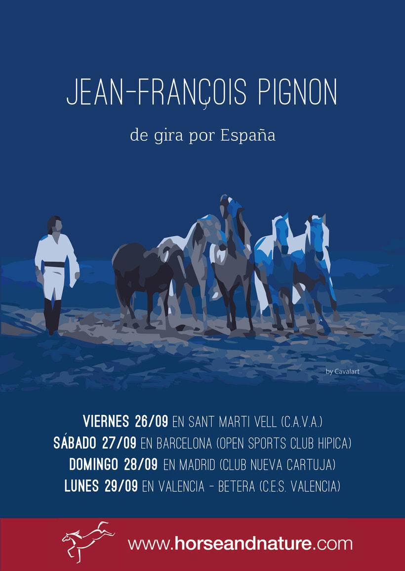 Carteles.Posters.Campaña publicitaria Jean François Pignon 0