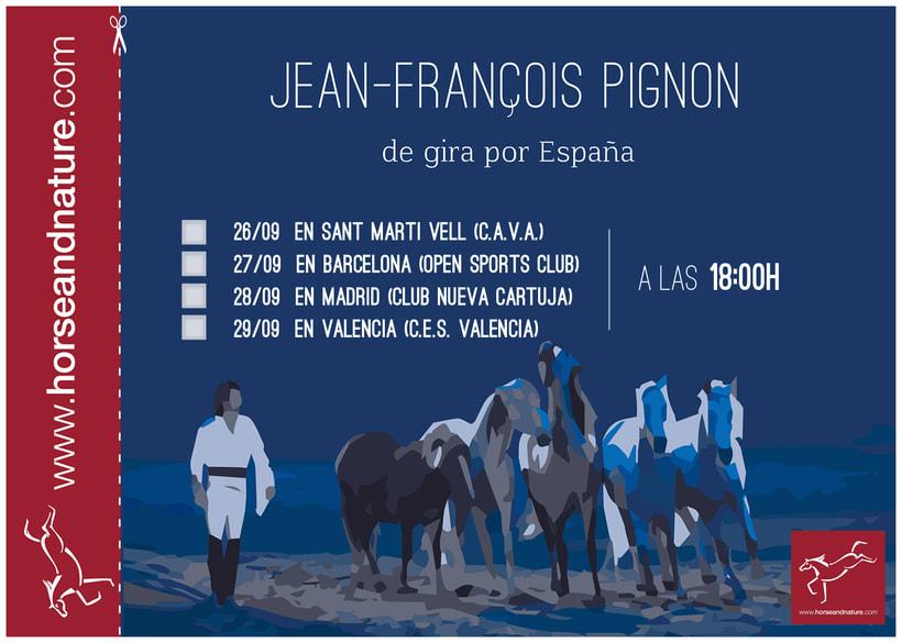 Carteles.Posters.Campaña publicitaria Jean François Pignon 1