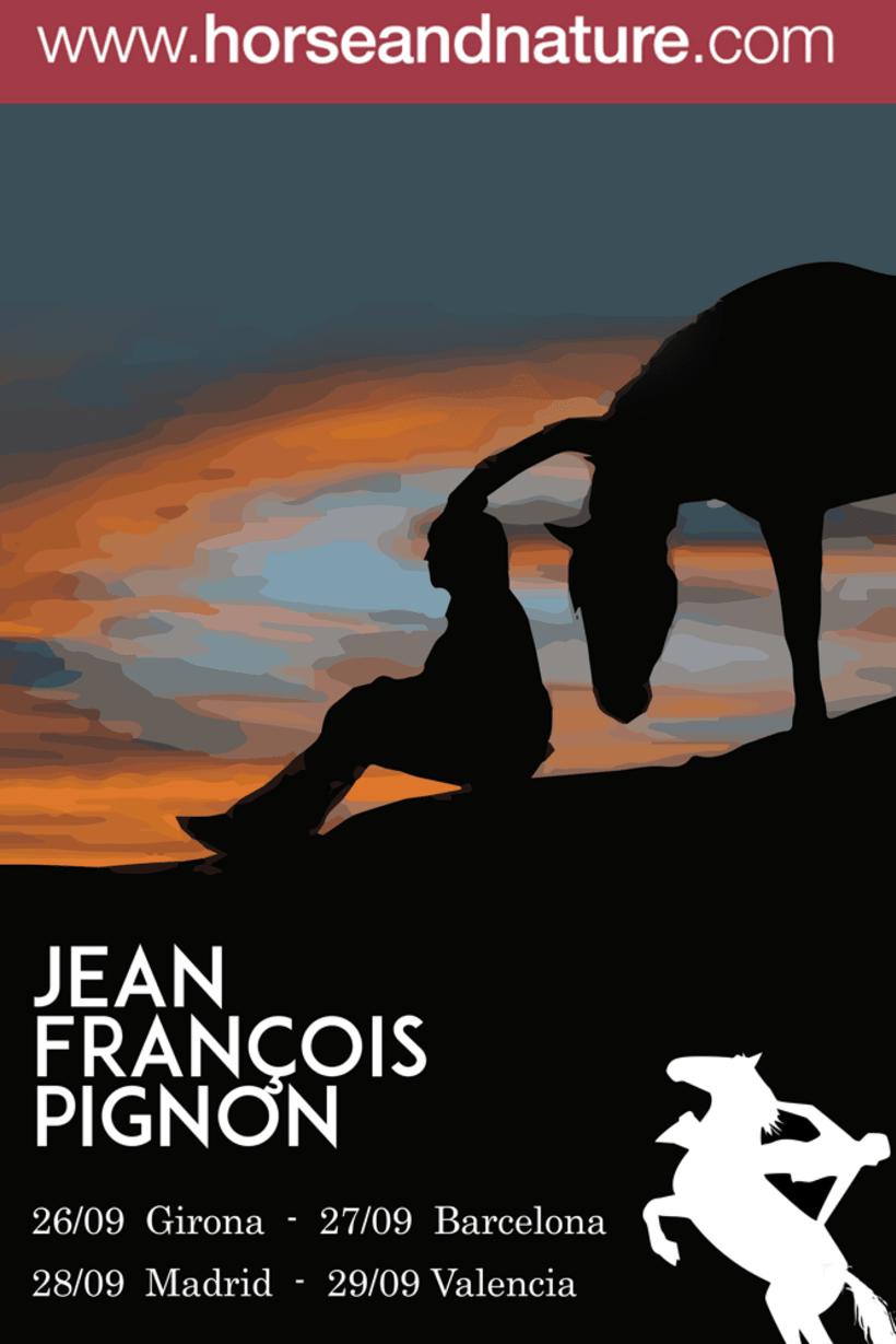 Carteles.Posters.Campaña publicitaria Jean François Pignon 2