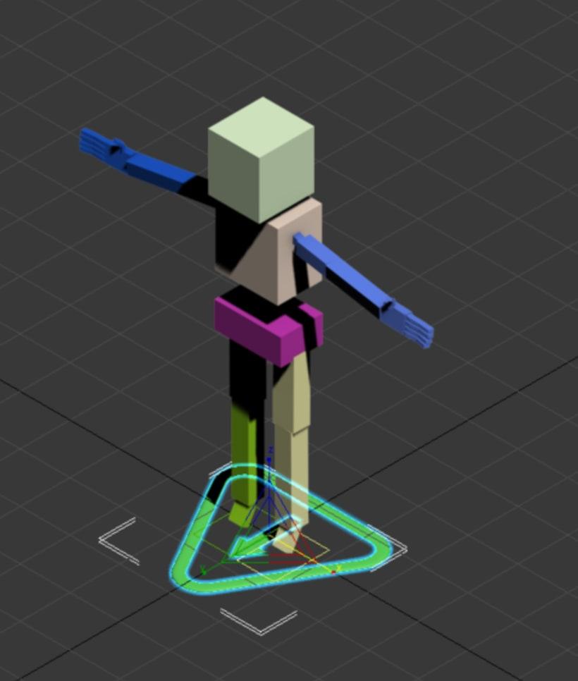 Ayuda para animación en 3d max 1