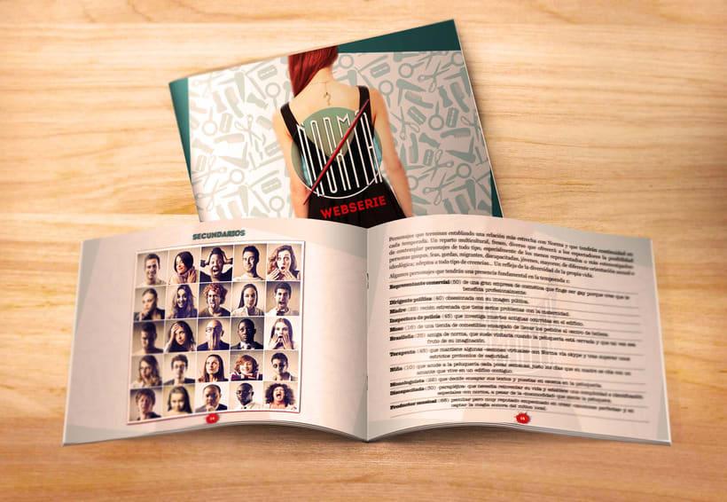 Norma –proyecto audiovisual para web serie– 3