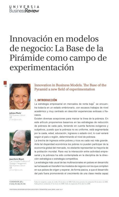 Universia. Revistas y guías. 2