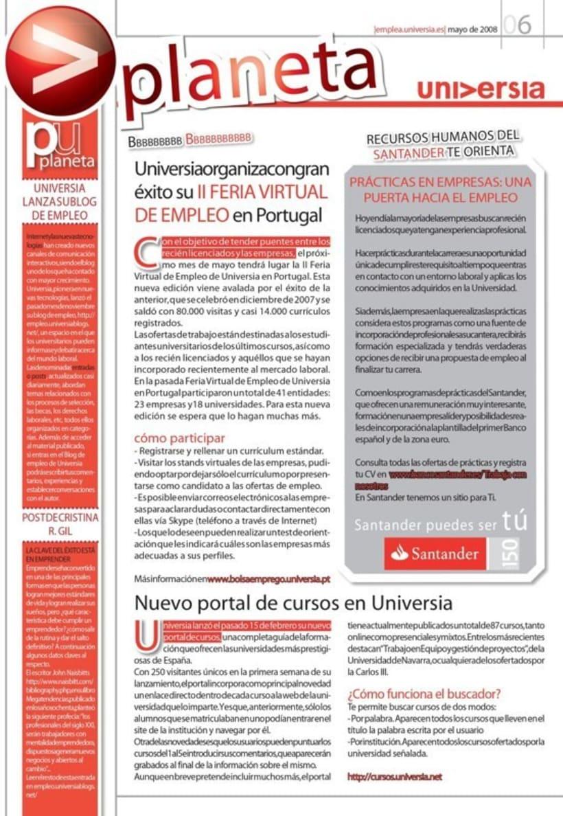 Universia. Revistas y guías. 13