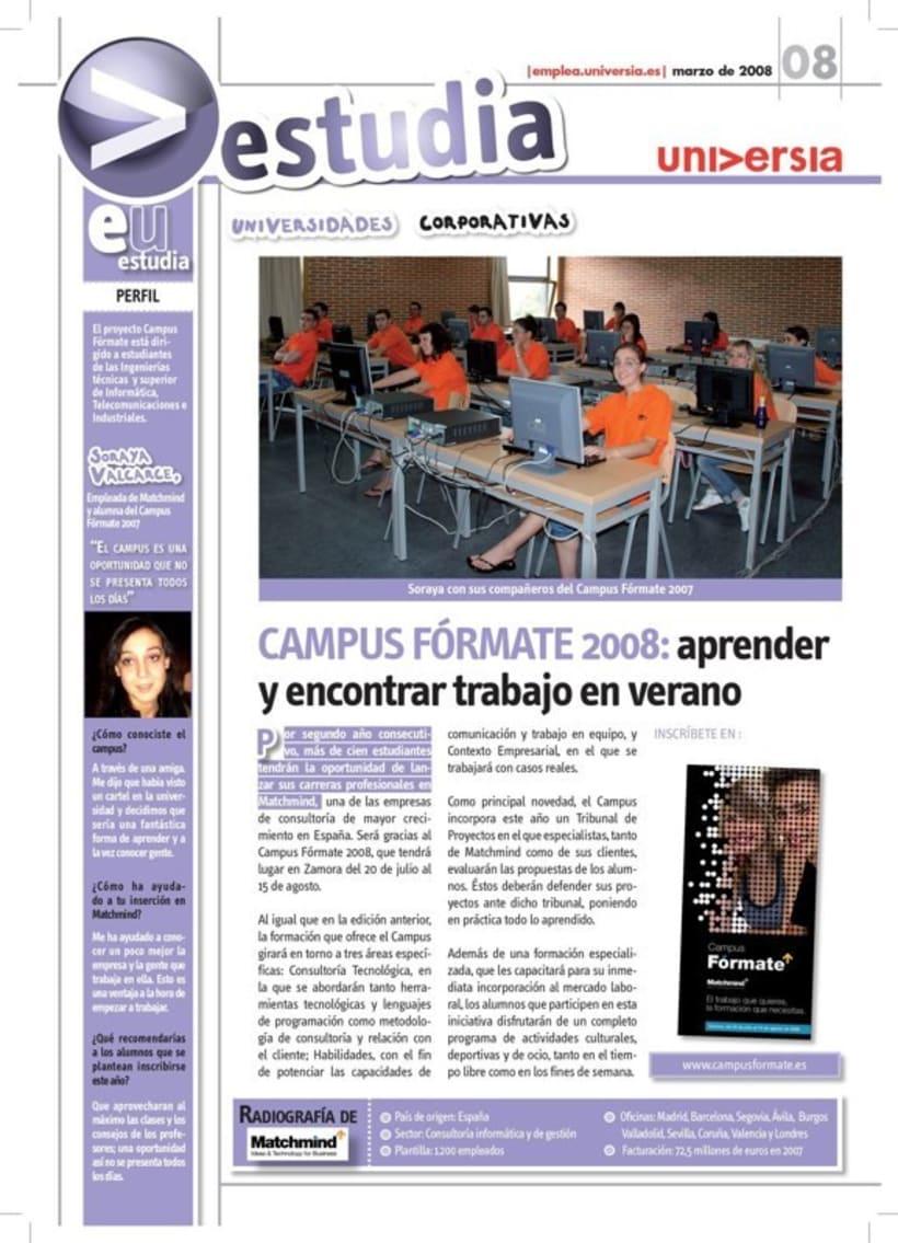 Universia. Revistas y guías. 14