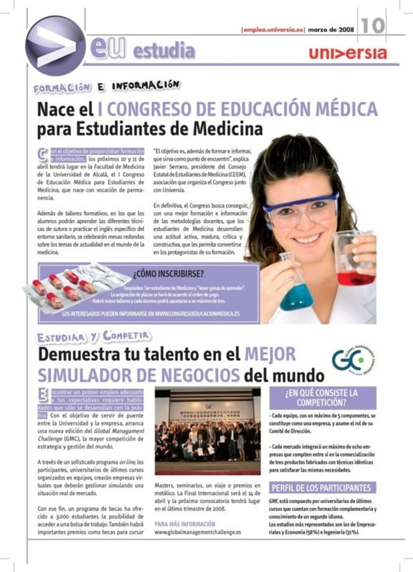 Universia. Revistas y guías. 15