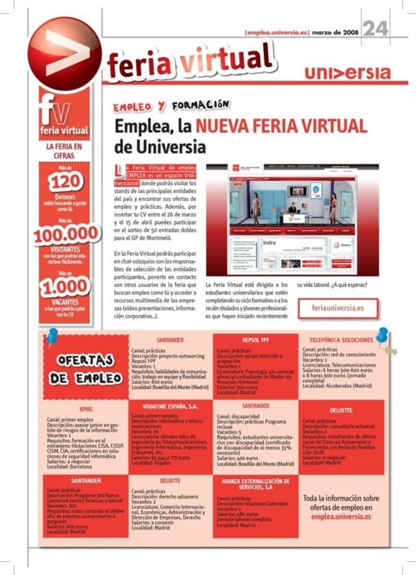 Universia. Revistas y guías. 17