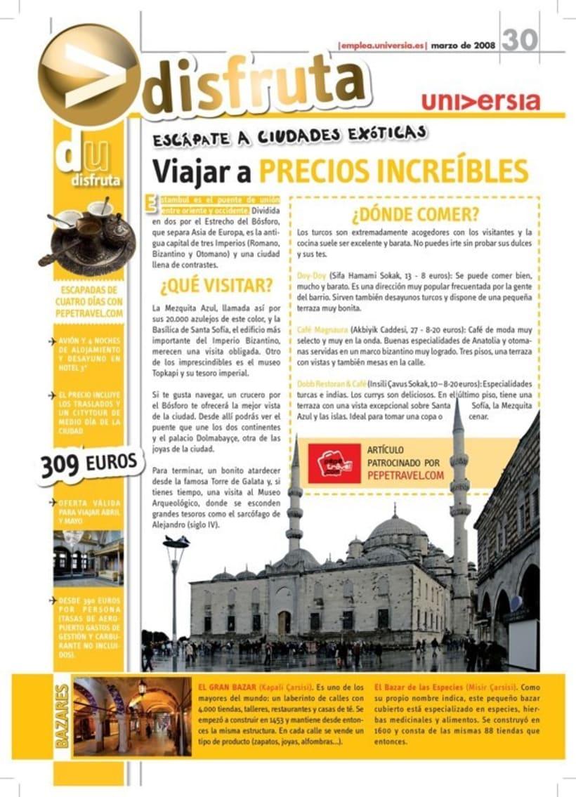 Universia. Revistas y guías. 20