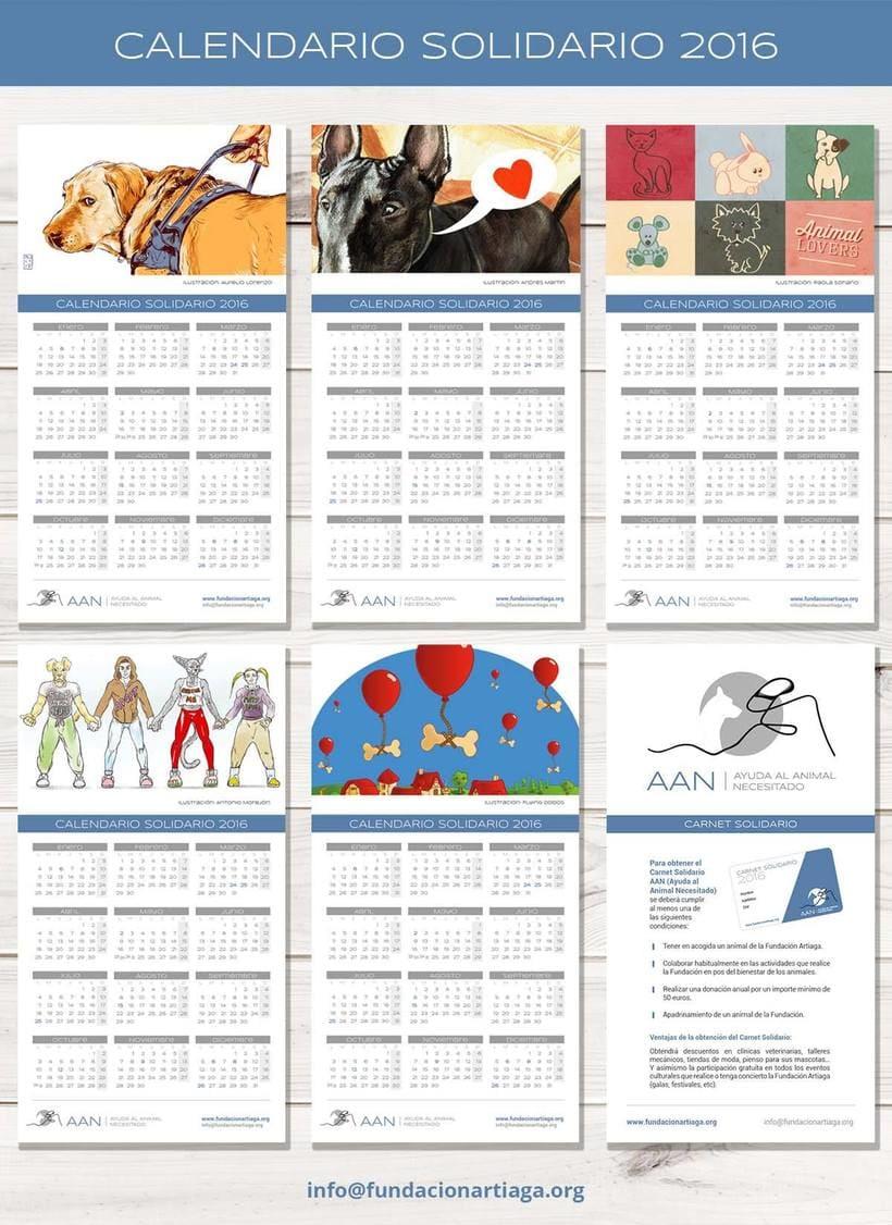 Calendario Solidario FUNDACIÓN ARTIAGA 3