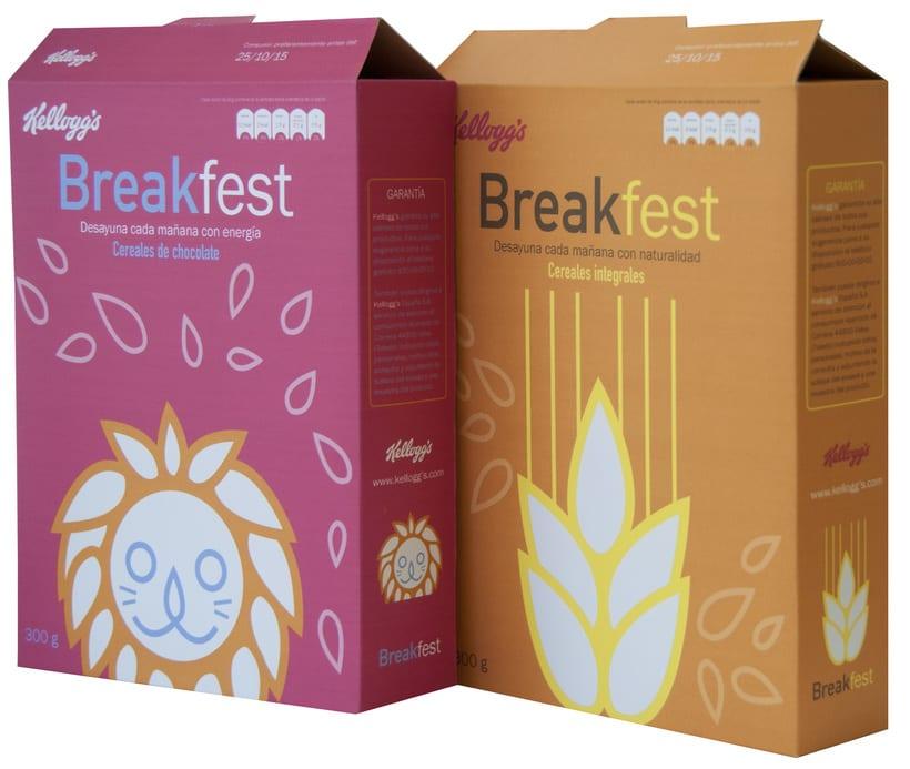 Cajas de cereales, adulto y niño 0