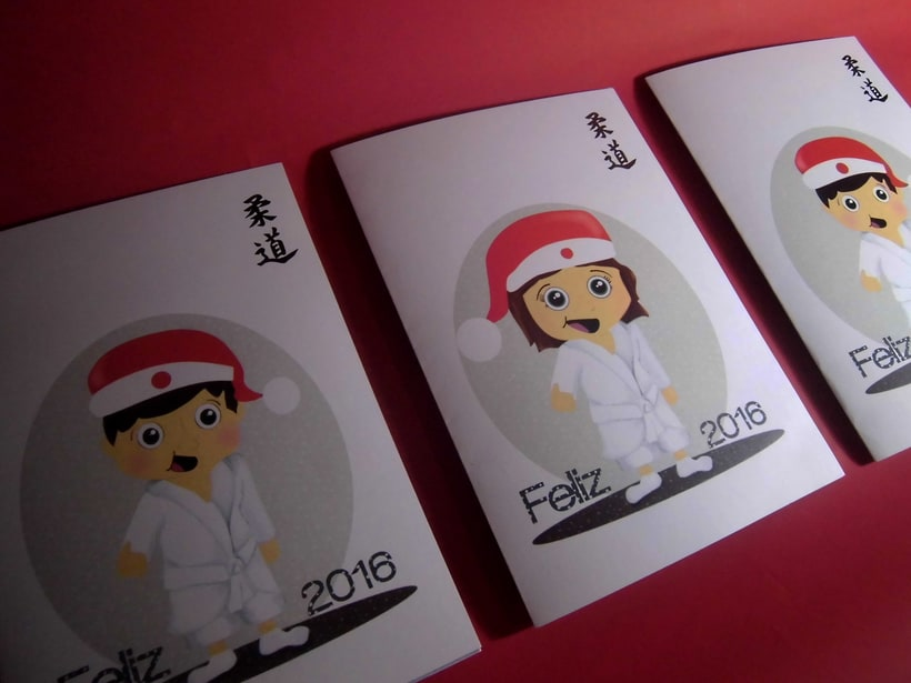 Postales Judo 1