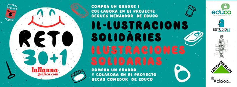 RETO 30+1. ILUSTRACIONES SOLIDARIAS 2