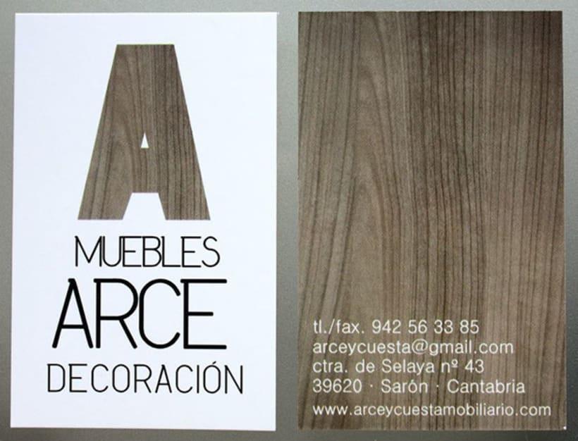 BRANDING | muebles arce decoración -1