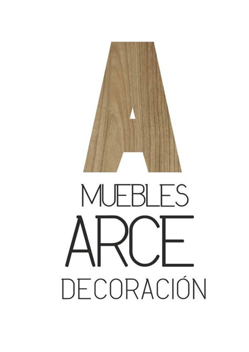BRANDING | muebles arce decoración 0