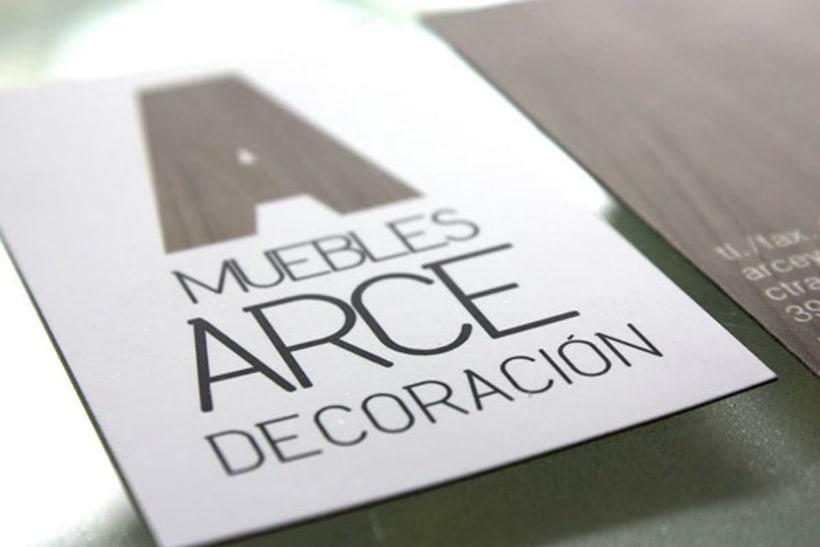 BRANDING | muebles arce decoración 1