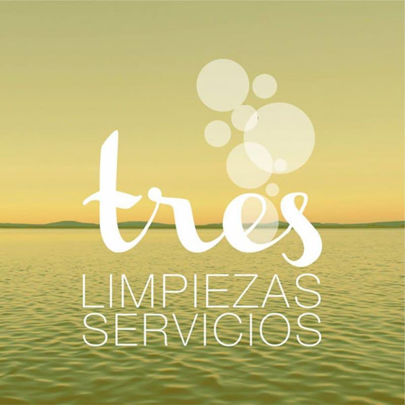 BRANDING | tres limpieza y servicios -1