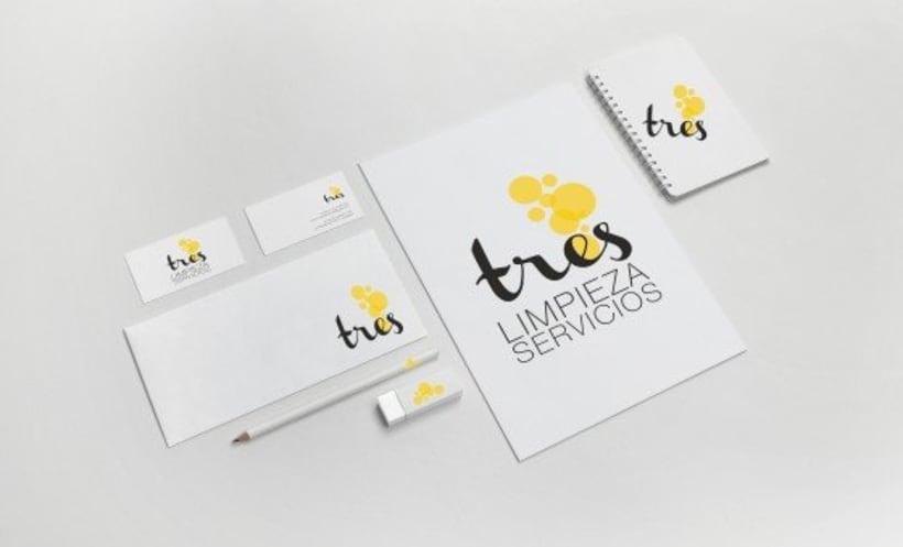 BRANDING | tres limpieza y servicios 0