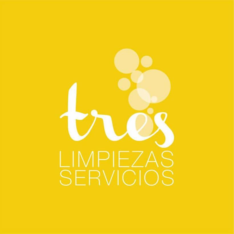 BRANDING | tres limpieza y servicios 1