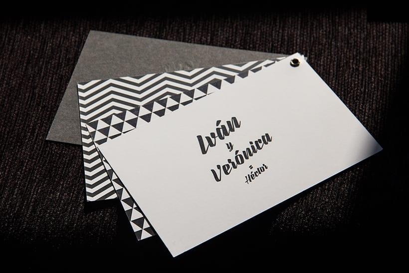 INVITACIÓN DE BODA | personalizada, de una diseñadora gráfica 4