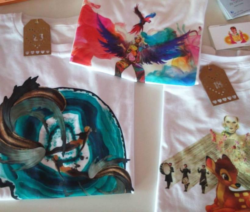 XMAS MARKET en el Real Club Náutico de Las Palmas de GC- Presentación de mi línea de camisetas. -1