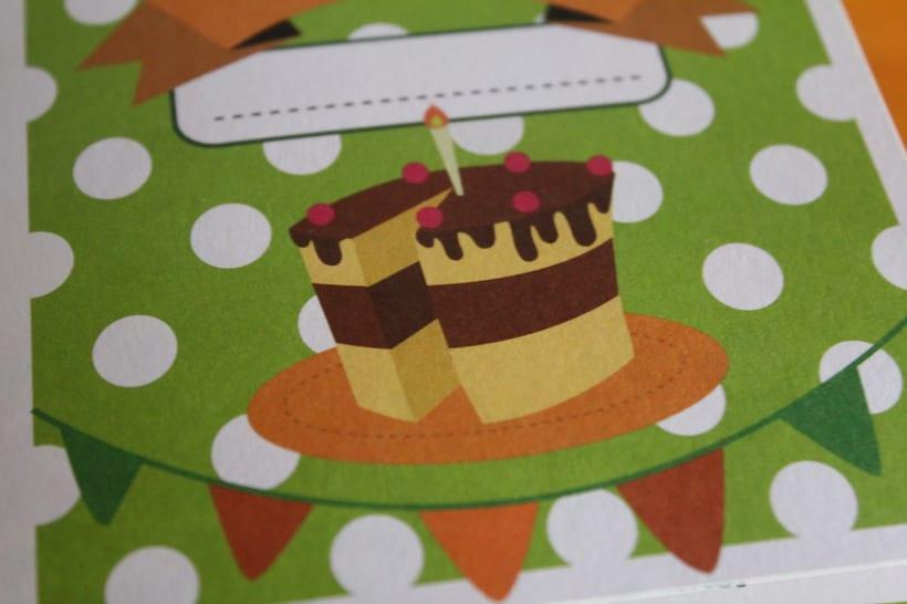 identidad corporativa y tarjetas de invitación ludoteca 2