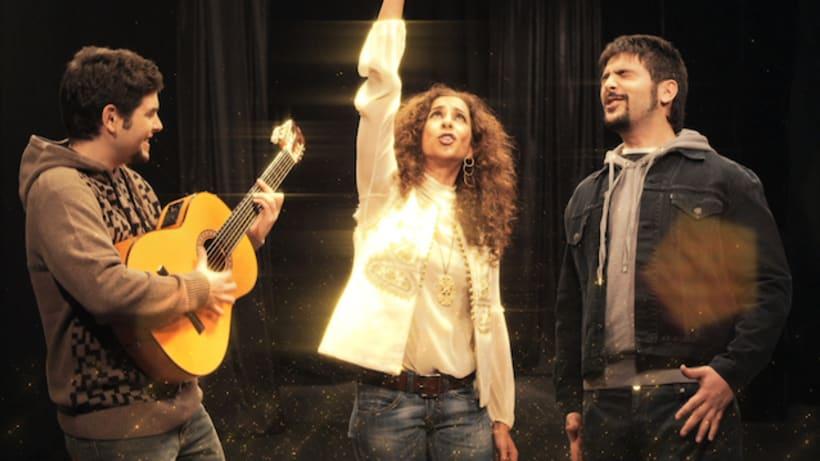 """""""El Run Run"""", Estopa & Rosario Flores 3"""