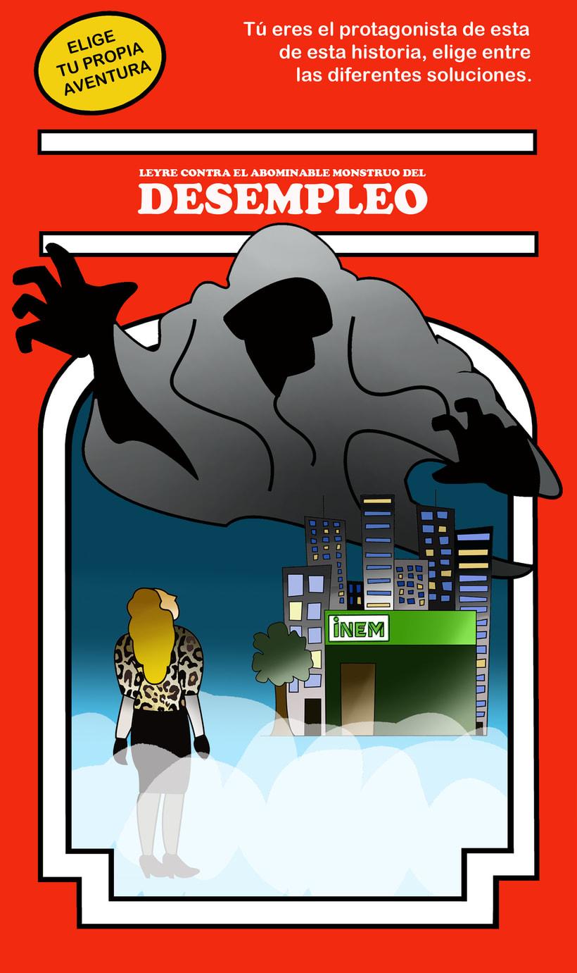 Monstruo Desempleo -1