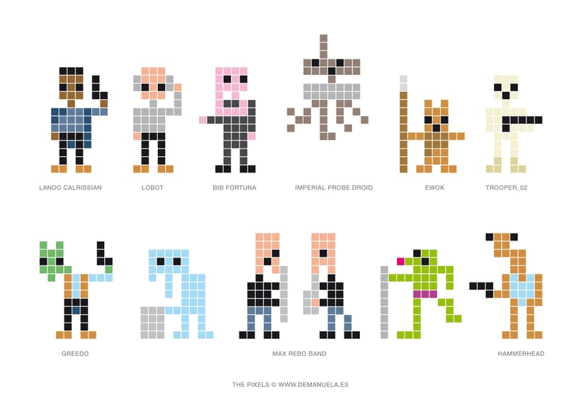 Star Wars Pixels Icons 4