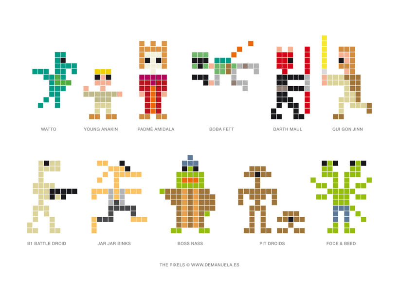 Star Wars Pixels Icons 5