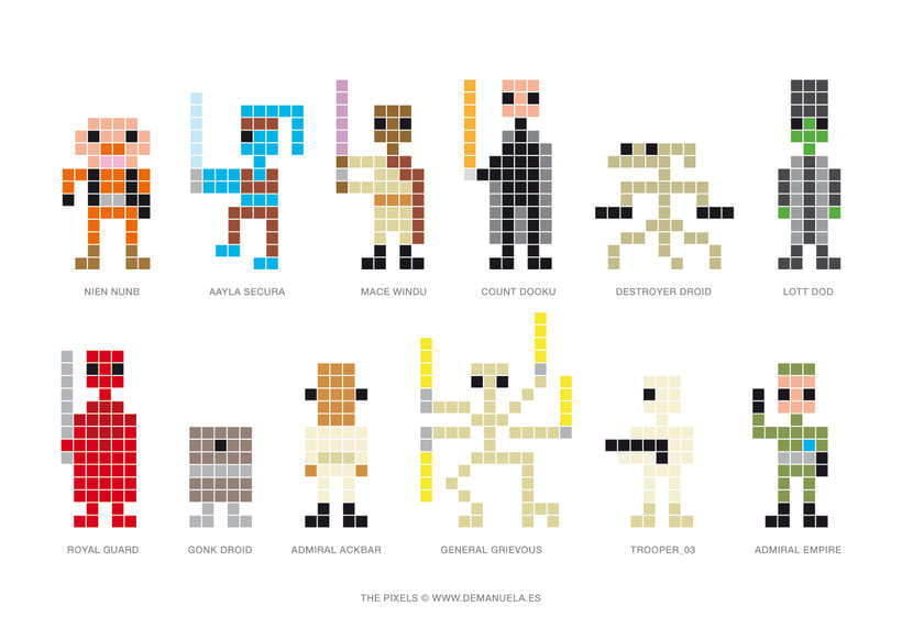 Star Wars Pixels Icons 6