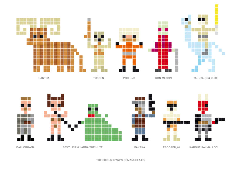 Star Wars Pixels Icons 7