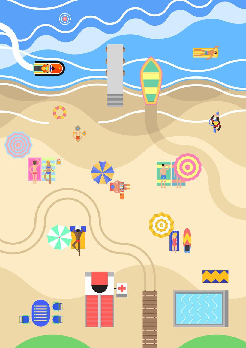 La playa 0